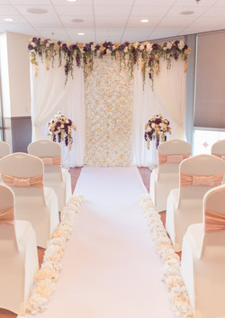 Blooming Romance Backdrop/Ceremony