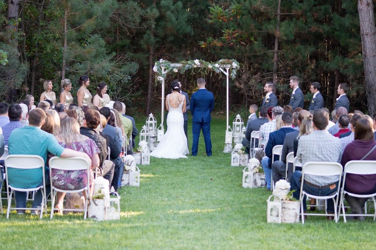 Falls Gardens Ceremony
