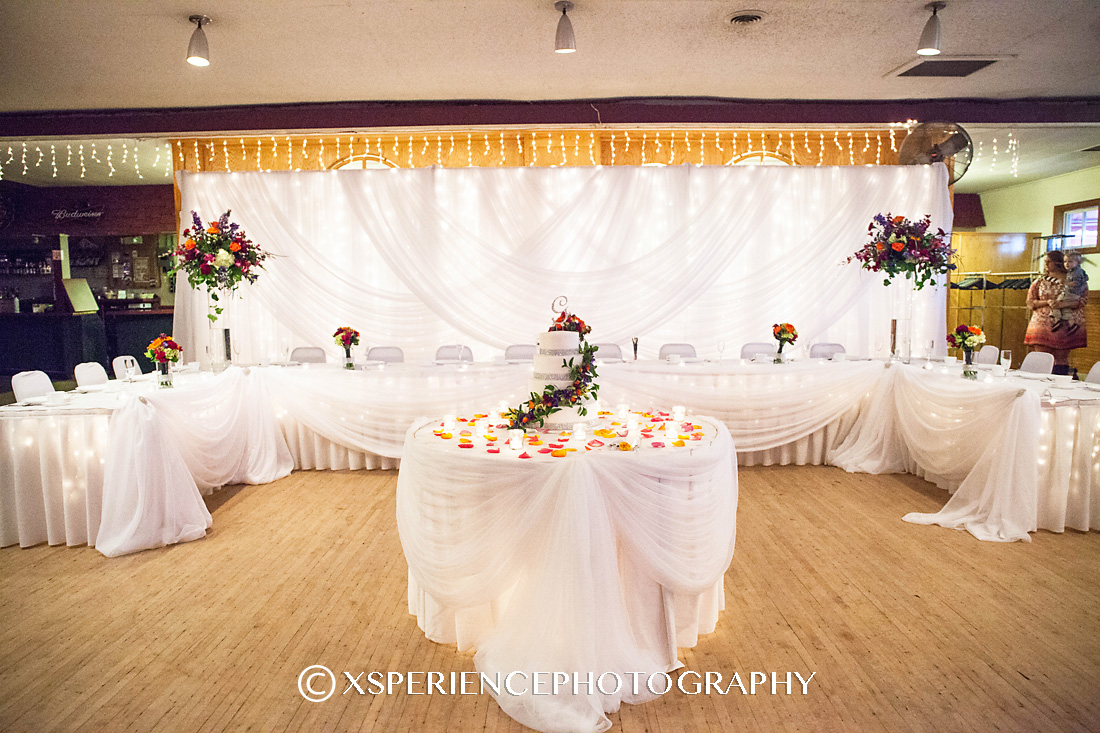 Triple Amore Draped Backdrop