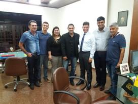 Reunião do grupo INER com o governador do Acre, Gladson Cameli