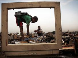 """Cemitério de Eletrônicos na Africa e """"Guerra"""" ao Canadá por causa de lixo"""