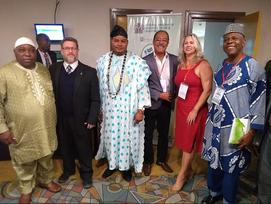 PRESIDENTE DO ELO SOCIAL PARTICIPA DE EVENTO NIGERIANO E É ACLAMADO EMBAIXADOR DA ÁFRICA