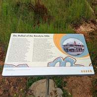 One of a signage package for the Granite Way, Western Australia. think blink design