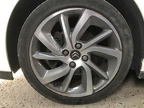 citroen diamondcut alloy wheel