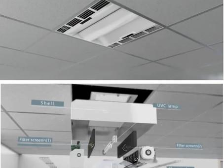 Approvati due innovativi sistemi di disinfezione dell'aria utilizzabili in presenza di persone!