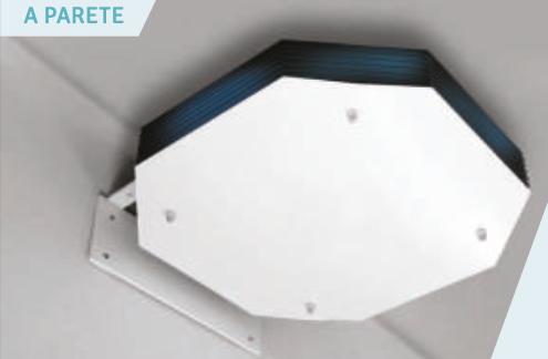 Sistema UV-C diurna a parete con tecnologia UV-C Philips