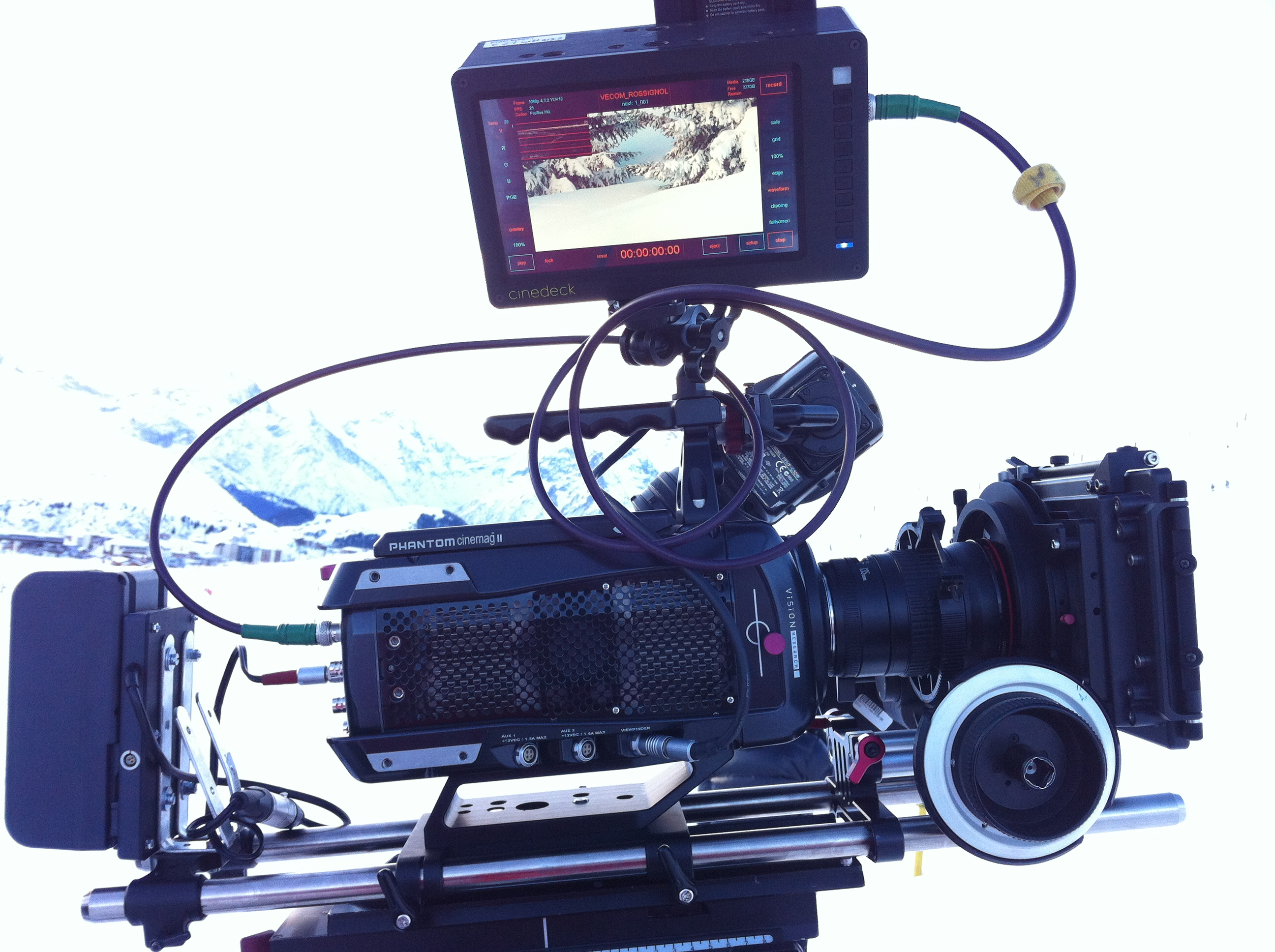 Highspeed camera - Phantom Flex