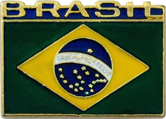 BOTON BANDEIRA DO BRASIL COM LETRAS