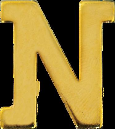 "LETRA ""N"" 30MM BRAÇAL"