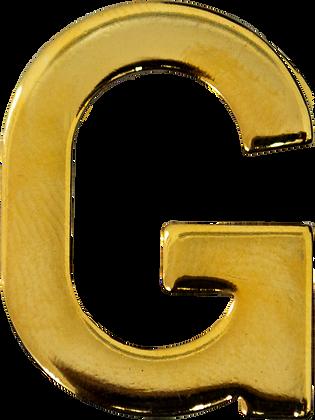 "LETRA ""G"" 30MM BRAÇAL"