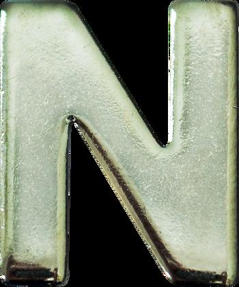 "LETRA ""N"" 20MM BRAÇAL"