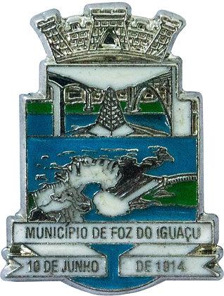 BOTON MUNICIPIO DE FOZ DE IGUAÇU