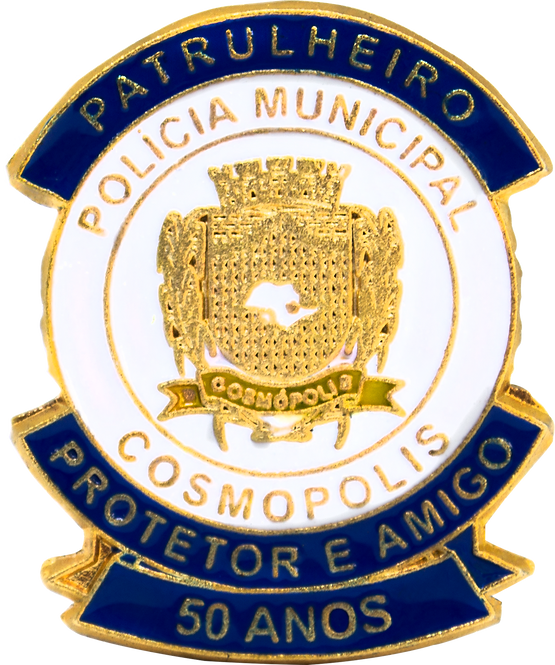 BOTON GCM 50 ANOS COSMOPOLIS