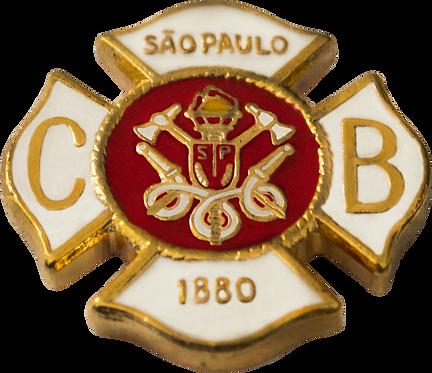 BOTON CORPO DE BOMBEIRO SP