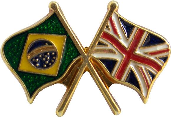 BOTON BRASIL X INGLATERRA