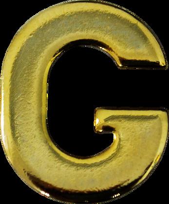 "LETRA ""G"" 20MM BRAÇAL"