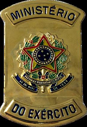 CHAPA MINISTERIO DO EXERCITO E REPUBLICA