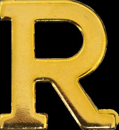 "LETRA ""R"" 20MM BRAÇAL"
