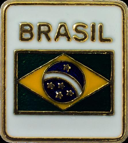BOTOM BANDEIRA DO BRASIL FUNDO BRANCO