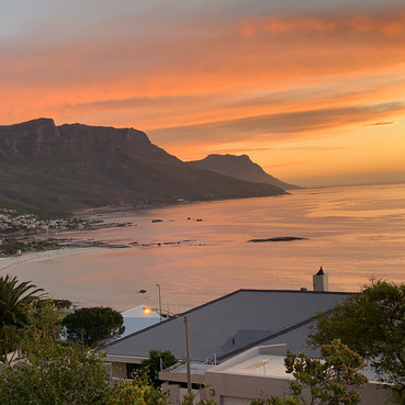 Sunset over Camps Bay