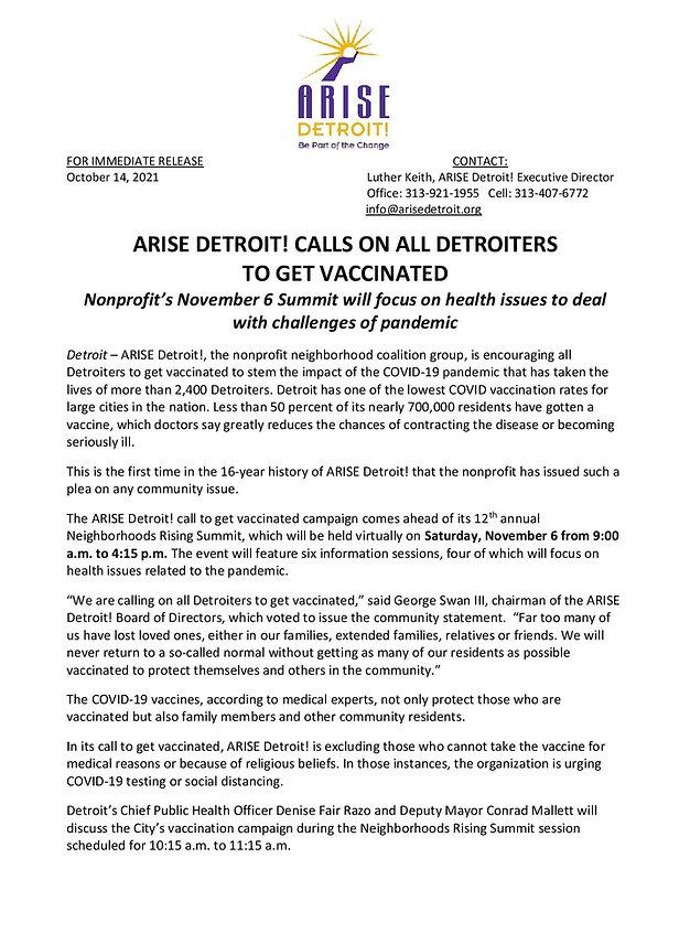 ARISE Detroit! Vaccine Statement & Neighborhoods Summit Press Release-page-001.jpg