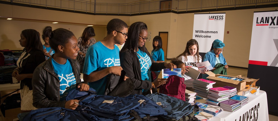 LANXESS Donates Hundreds of Backpacks and School Supplies to Detroit Organizations