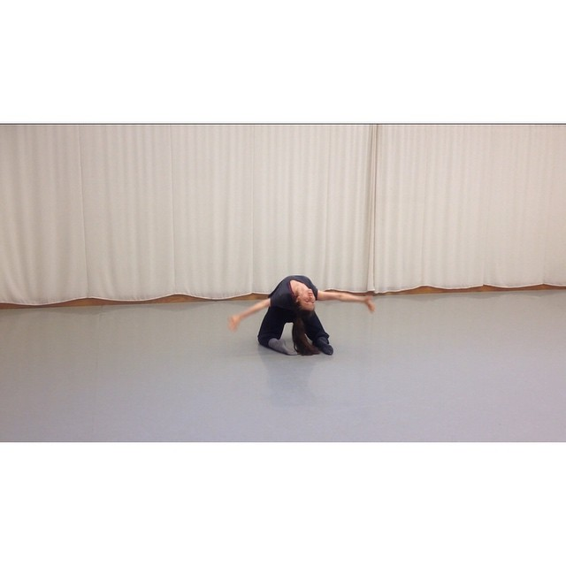 Solo dance piece 'Withered'