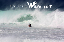 Wave off