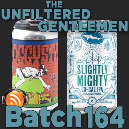 Batch 164: Ironfire Brewing Poggy Style & Dogfish Head Slightly Mighty IPA