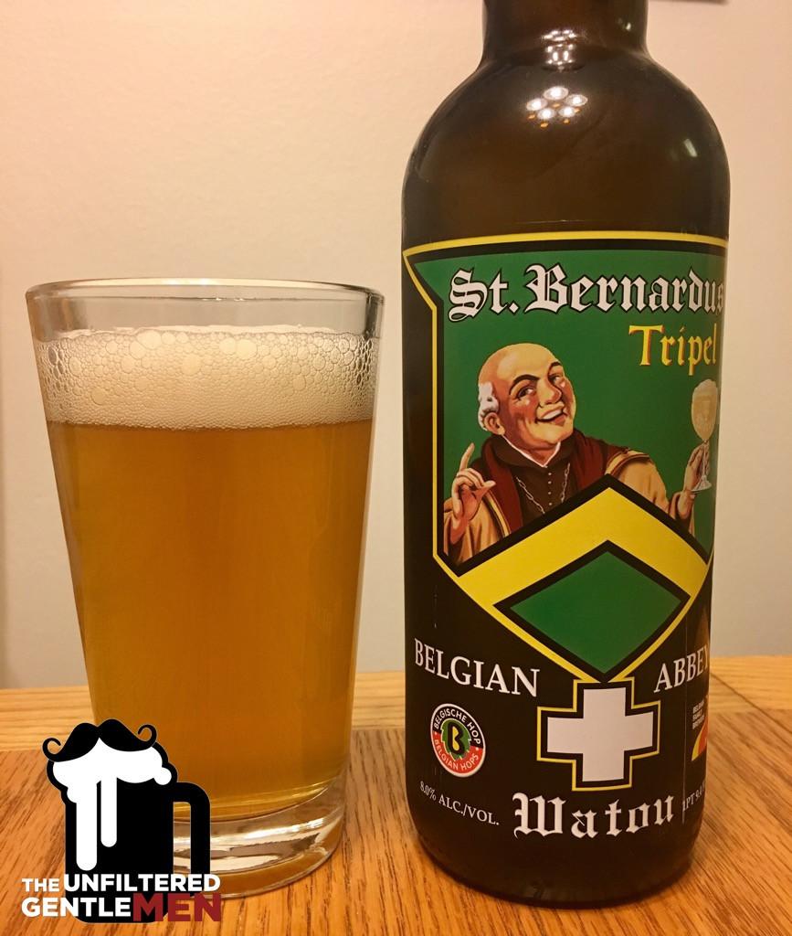 The Unfiltered Gentlemen Drinking and Reviewing St. Bernardus Tripel