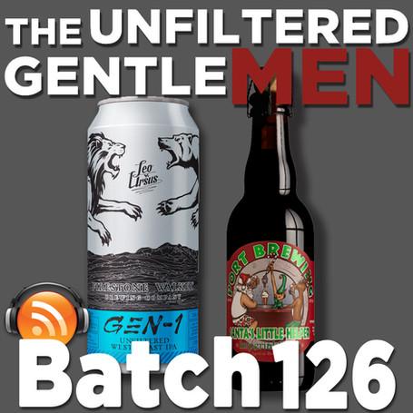 Batch 126: Firestone Walker Gen 1 IPA & Port Brewing Santa's Little Helper