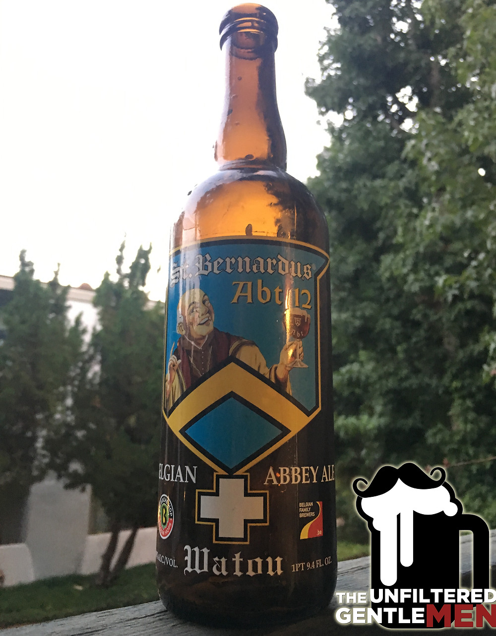 St. Bernardus Abt 12 Belgian Quad Unfiltered Gentlemen