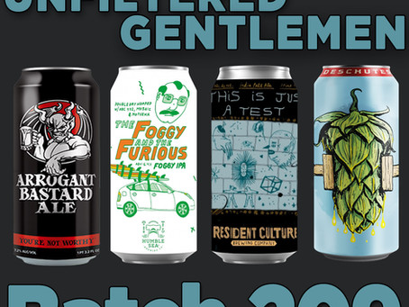 Batch 209: Humble Sea's The Foggy & the Furious, Deschutes' Fresh Squeezed, Resident Culture...