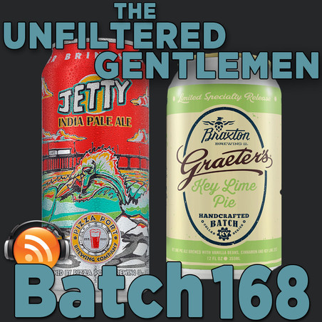 Batch 168: Pizza Port Jetty IPA & Braxton Brewing Graeter's Key Lime Pie