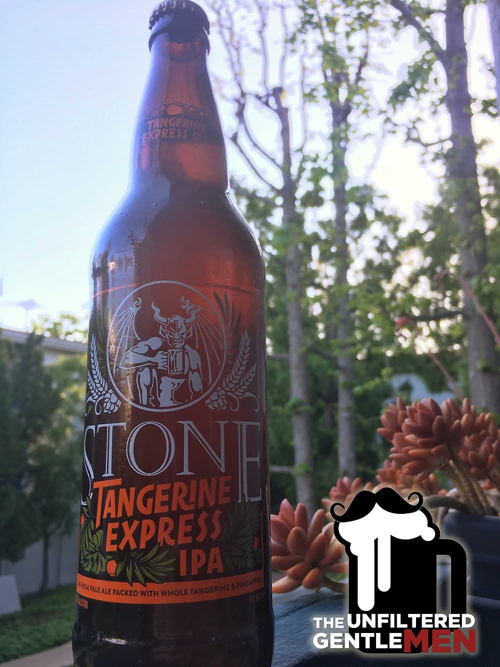 The Unfiltered Gentlemen and The Baller Lifestyle Drink Stone Brewing's Tangerine Express IPA