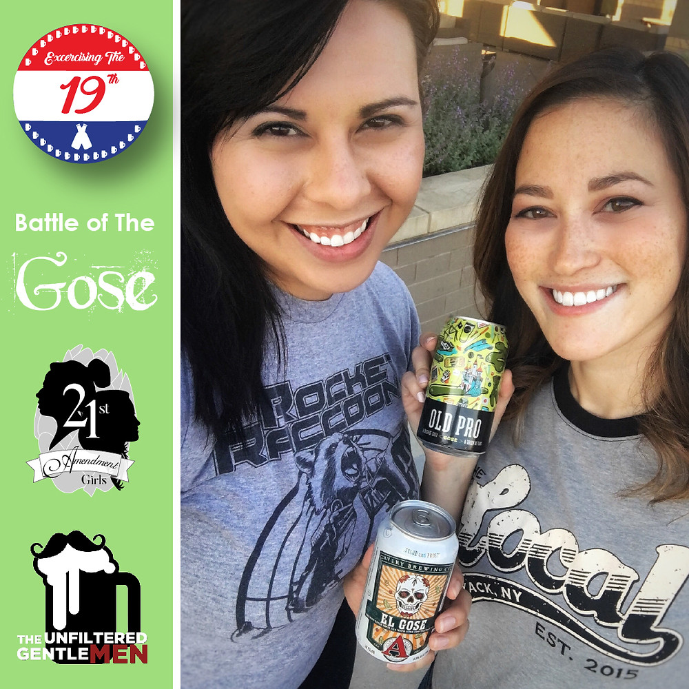 The Unfiltered Gentlemen with the 21st Amendment Girls