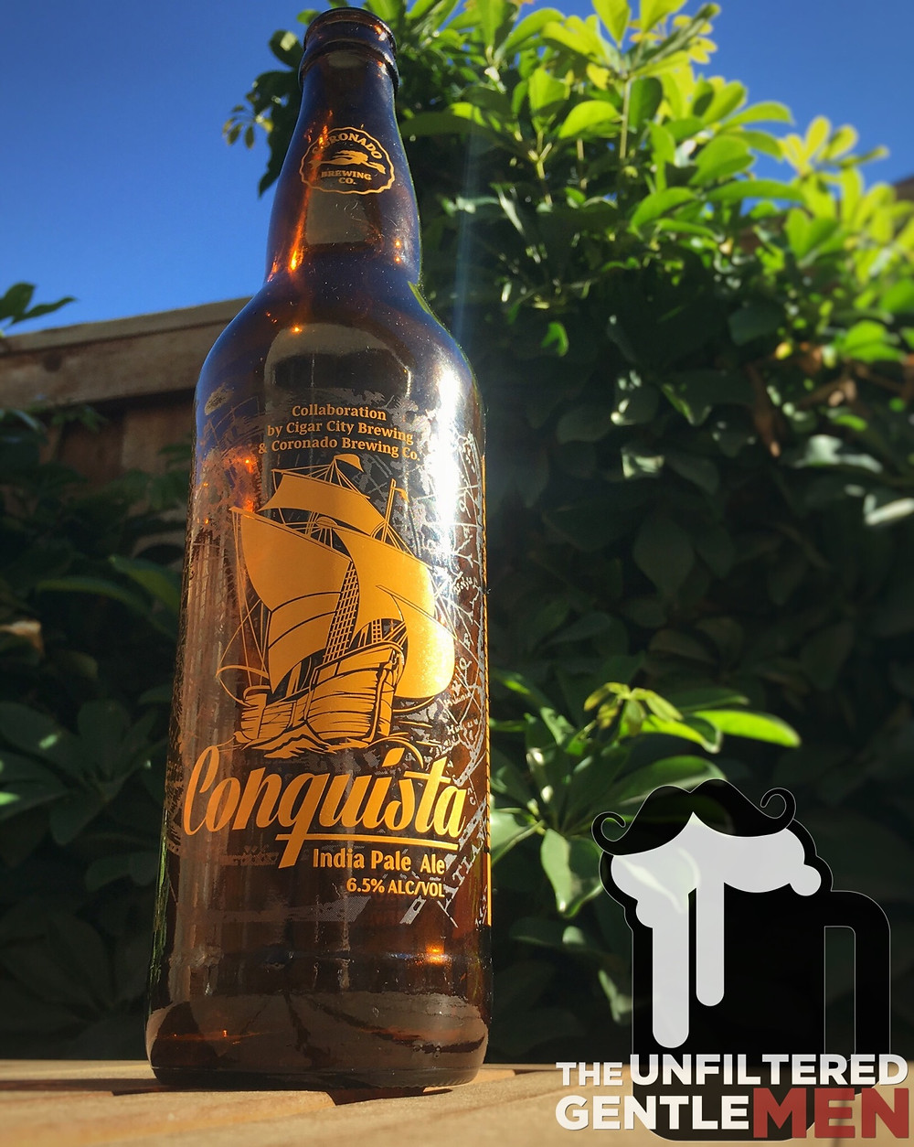 Cigar City Brewing & Coronado Brewing Conquista on The Unfiltered Gentlemen