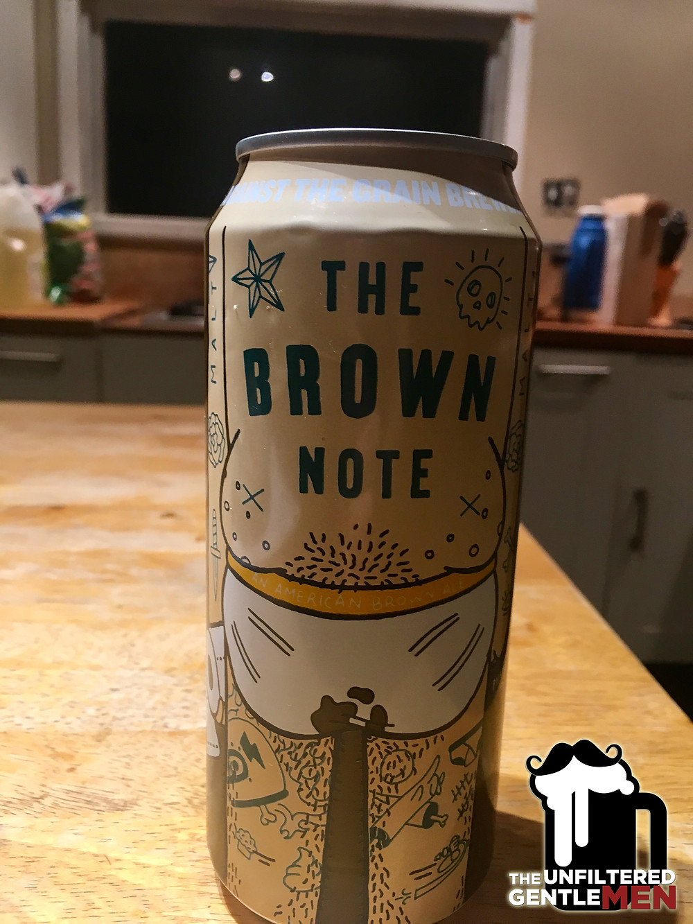 It's The Beer Girl Reviews The Brown Note on The Unfiltered Gentlemen