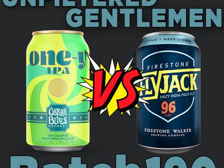 Batch 190: Oskar Blues One-y VS Firestone Walker Flyjack & Firestone Double Coconut Mind Haze