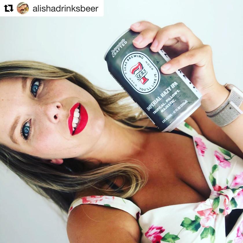 Alisha aka alishadrinksbeer is our Batch 219 Beer Babe of the Week