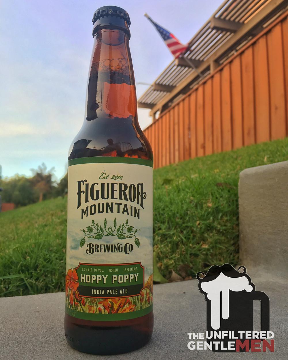 Figueroa Mountain's Hoppy Poppy IPA on Batch 65 of The Unfiltered Gentlemen