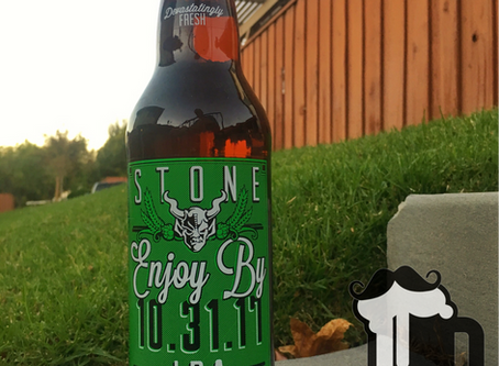 Batch 68:  It's The Beer Girl's Fall Beer, Stone Enjoy By 10.31.17 & Pumpkin Stuff