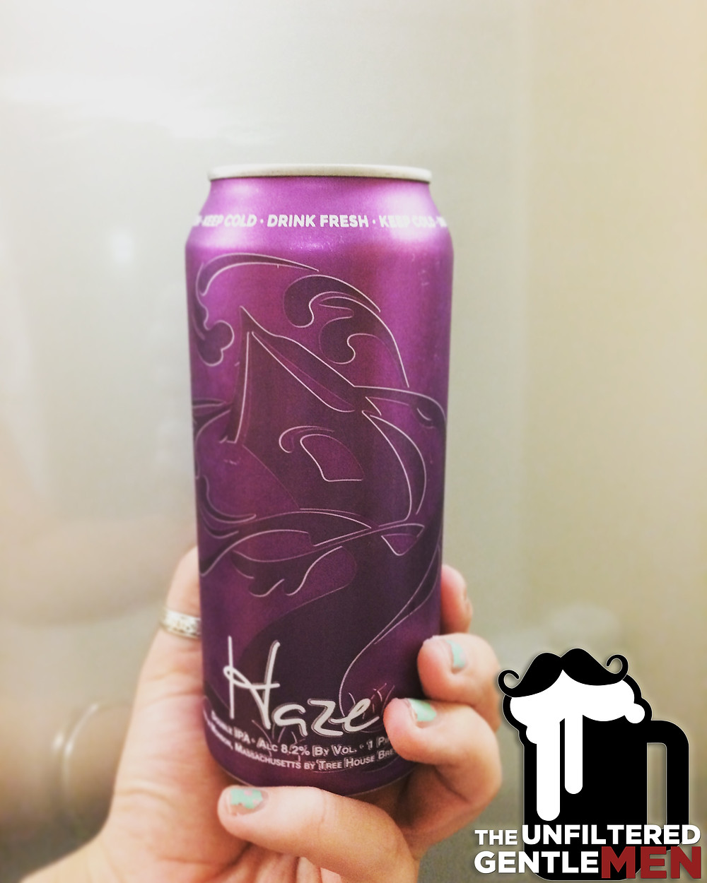 It's The Beer Girl Reviews Tree House Brewing's Haze IPA on The Unfiltered Gentlemen