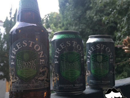 Batch 9: Firestone Walker Luponic Distortion Beer Experiments