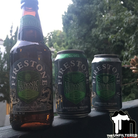 Batch 9: Firestone Walker Luponic Distortion Beer Experiments