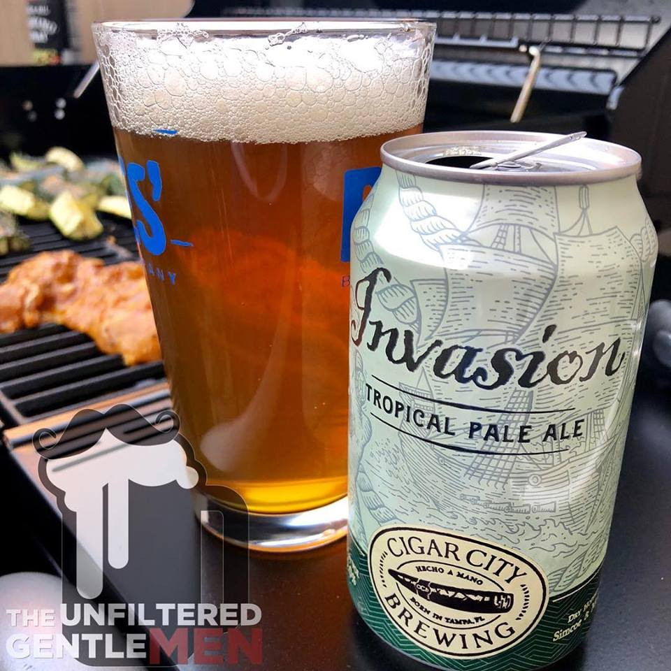 The Unfiltered Gentlemen Craft Beer Podcast with Cigar City Brewing's Invasion Tropical Pale Ale