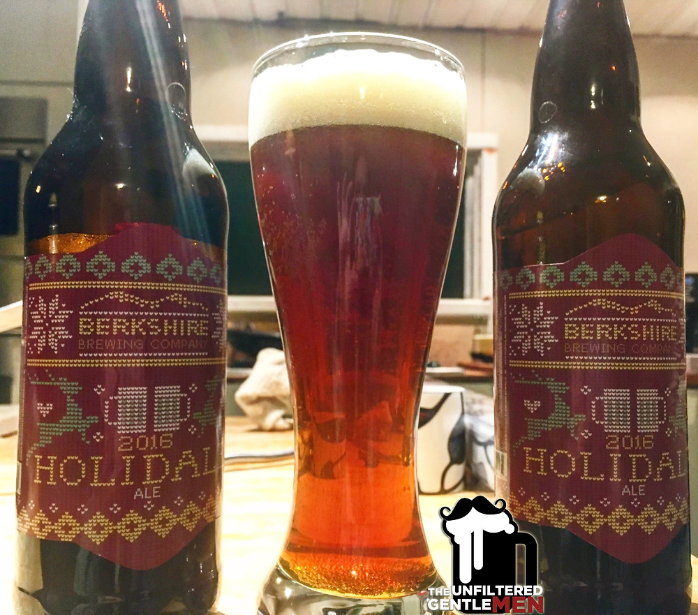 It's The Beer Girl Reviews Berkshire Brewing's Holidale on The Unfiltered Gentlemen