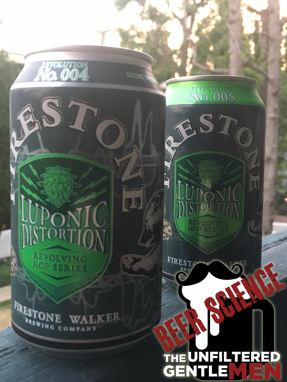 The Unfiltered Gentlemen Review Firestone Walker Luponic Distortion IPA