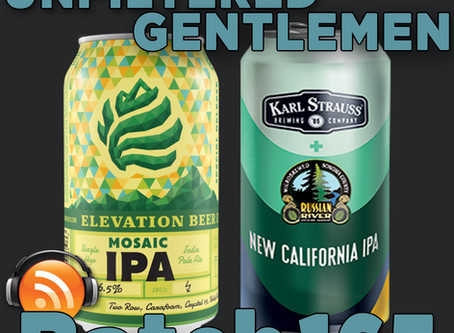 Batch 165: Elevation Brewing Mosaic IPA & Karl Strauss/Russian River New California IPA