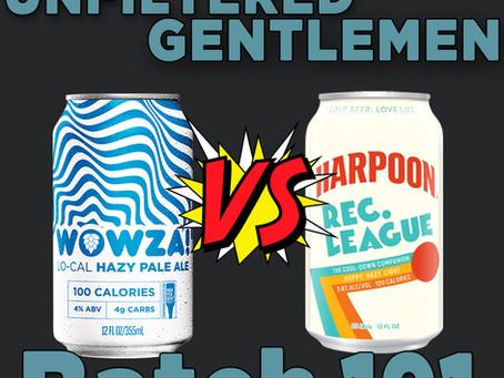 Batch191: Deschutes Brewing Wowza vs Harpoon Brewing Rec. League & Kern River Brewing LHazy River